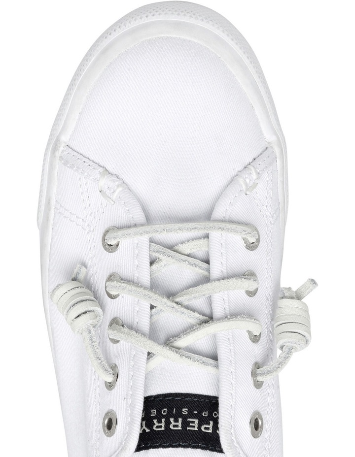 Seacoast Core Canvas Mono White Sneaker XS93173 image 4