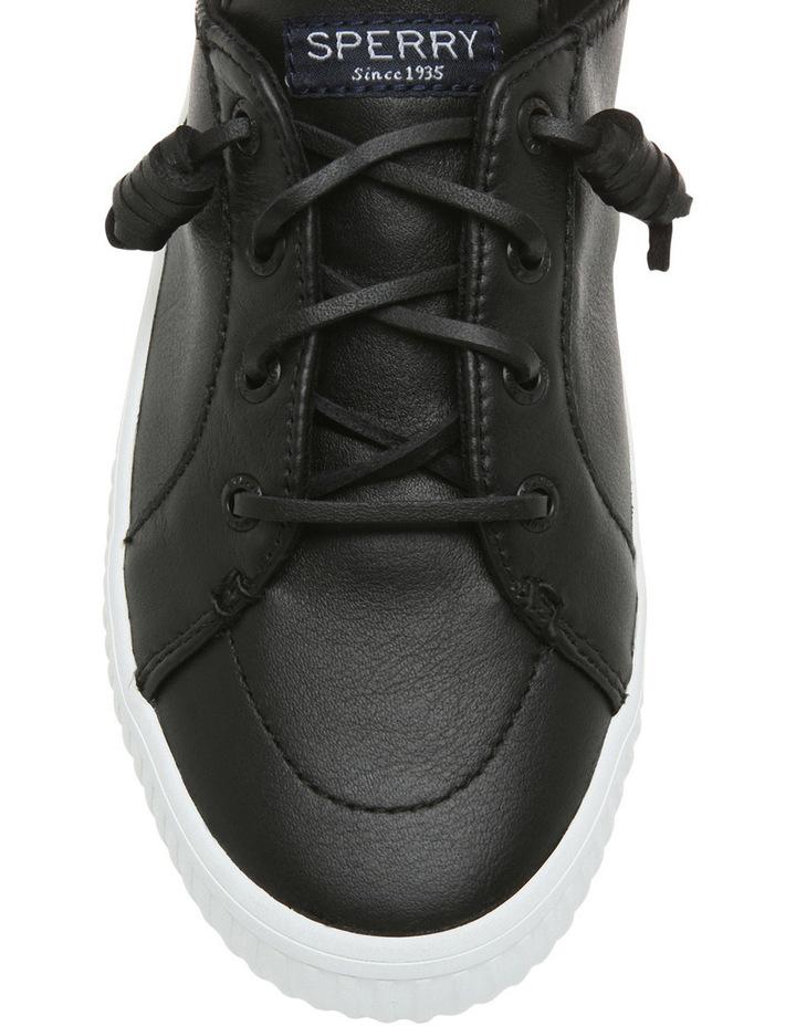 Crest Vibe Resort Leather Creeper STS80641 Black Sneaker image 3