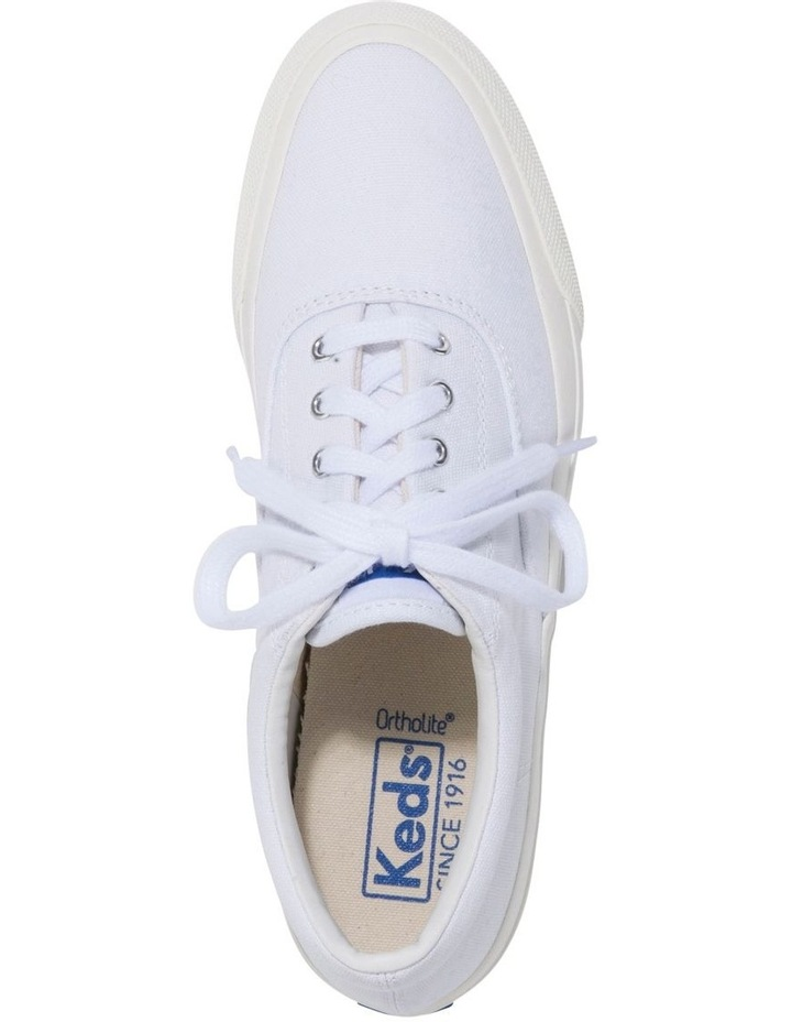 Anchor Canvas WF58139 White Sneaker image 3