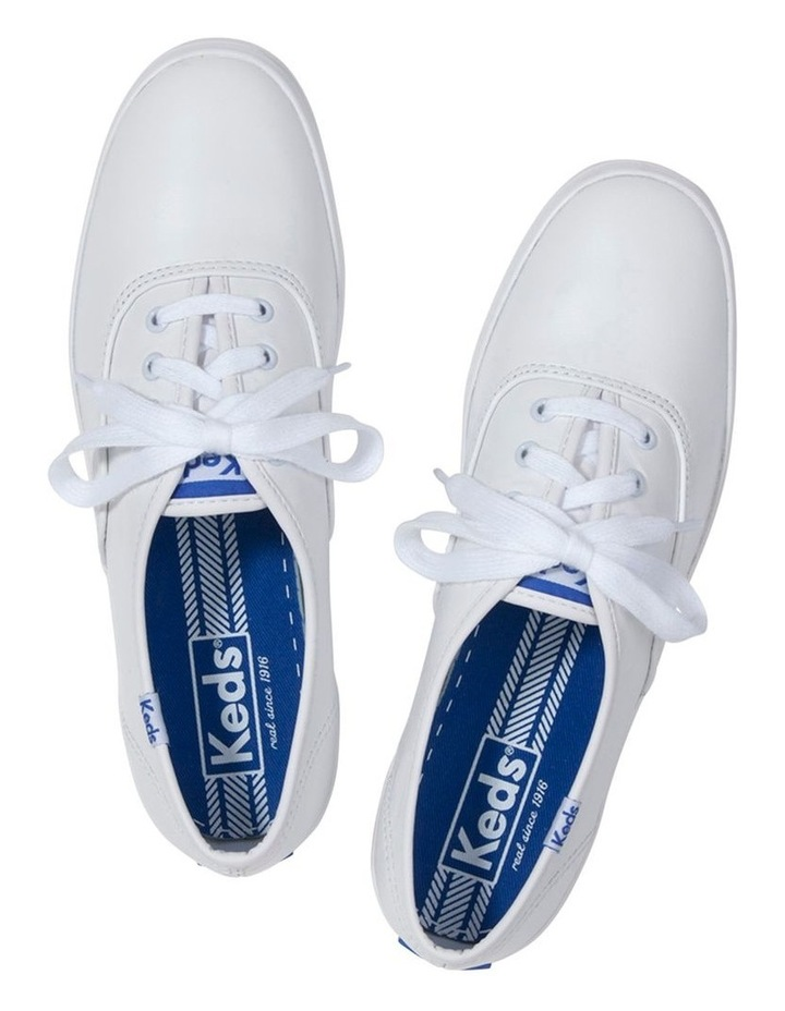 Champion Leather WH45750 White Sneaker image 2