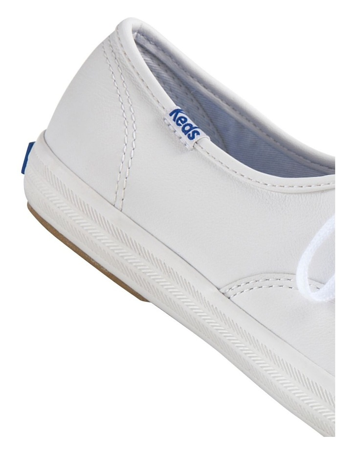 Champion Leather WH45750 White Sneaker image 5