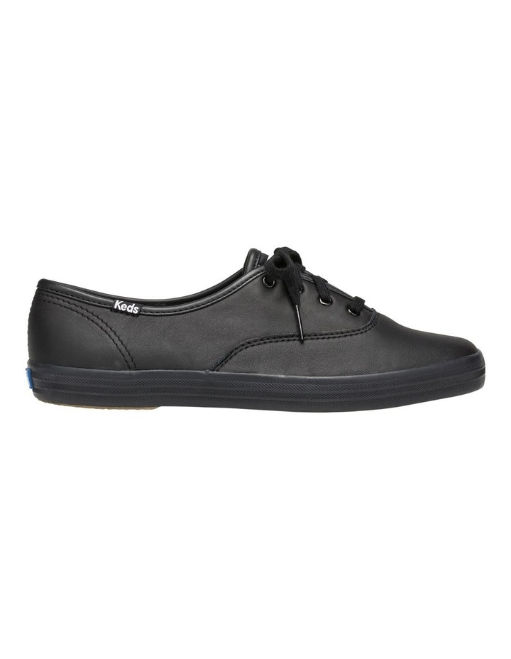 Champion Leather WH45780 Black Sneaker image 1
