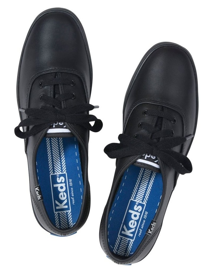 Champion Leather WH45780 Black Sneaker image 2