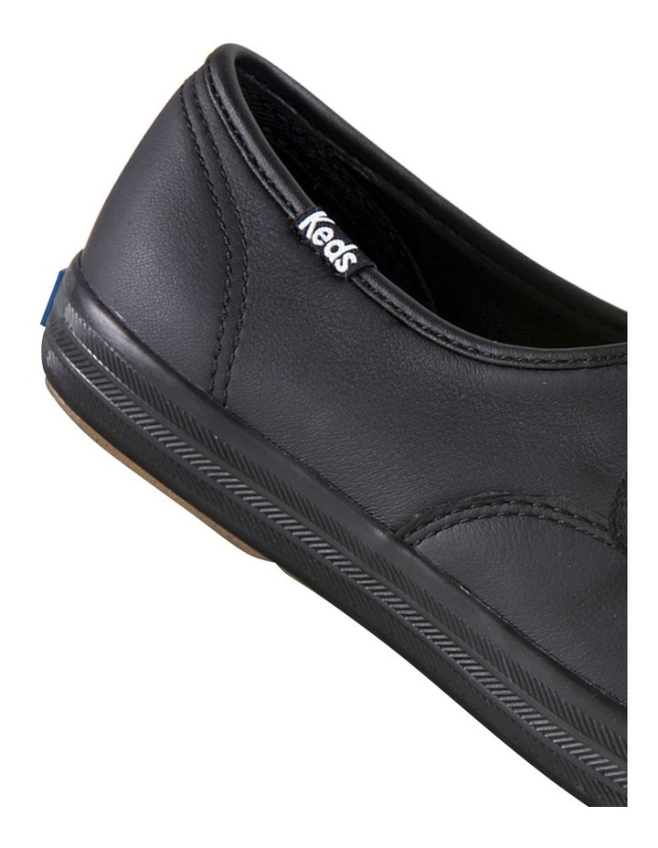 Champion Leather WH45780 Black Sneaker image 4