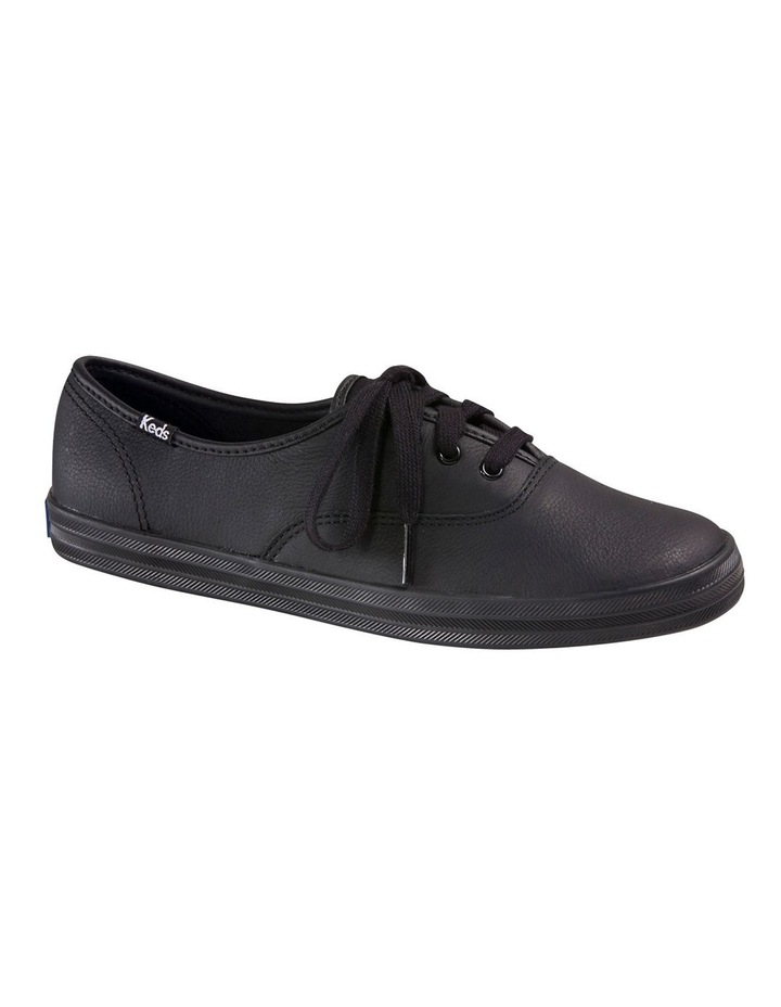 Champion Leather WH45780 Black Sneaker image 7