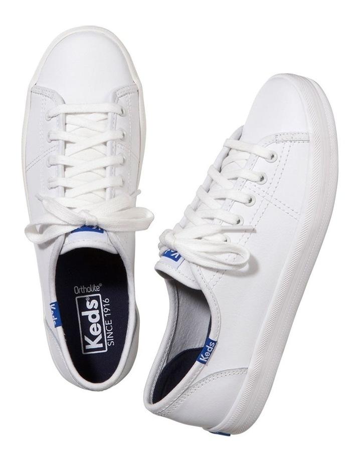 Kickstart Retro Court Leather WH57559 White Sneaker image 2