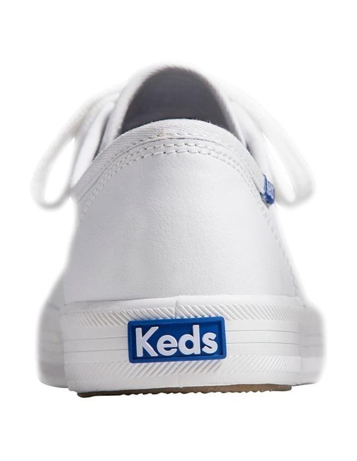 Kickstart Retro Court Leather WH57559 White Sneaker image 3