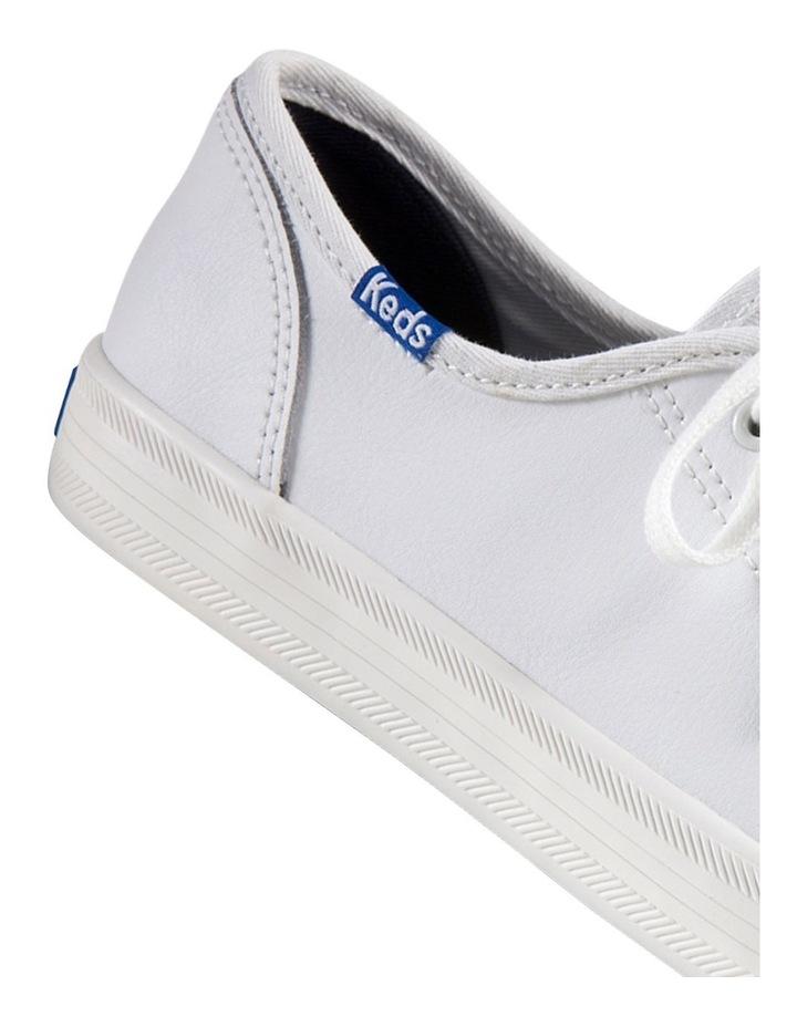 Kickstart Retro Court Leather WH57559 White Sneaker image 4