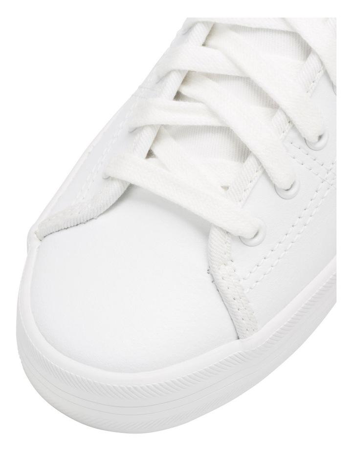 Kickstart Retro Court Leather WH57559 White Sneaker image 5