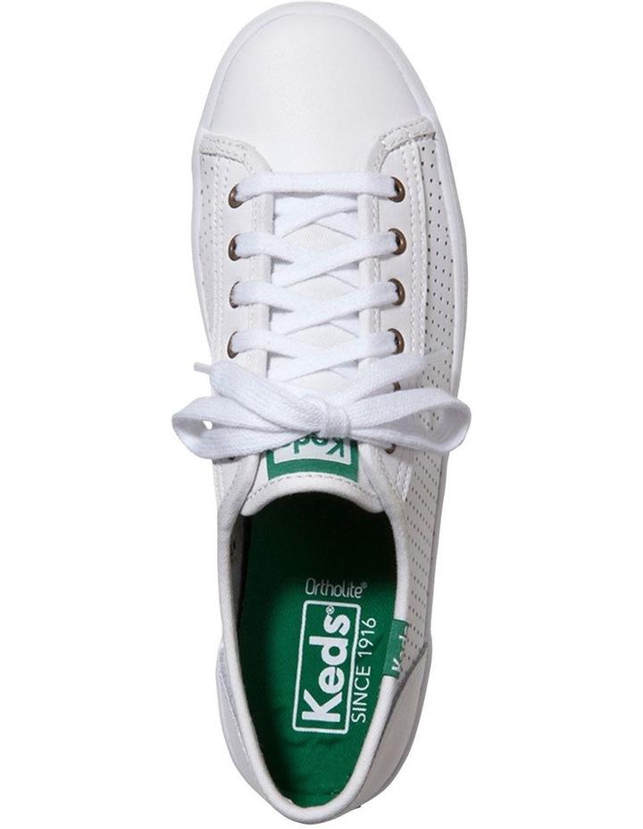 Kickstart Leather WH56115 White Sneaker image 3