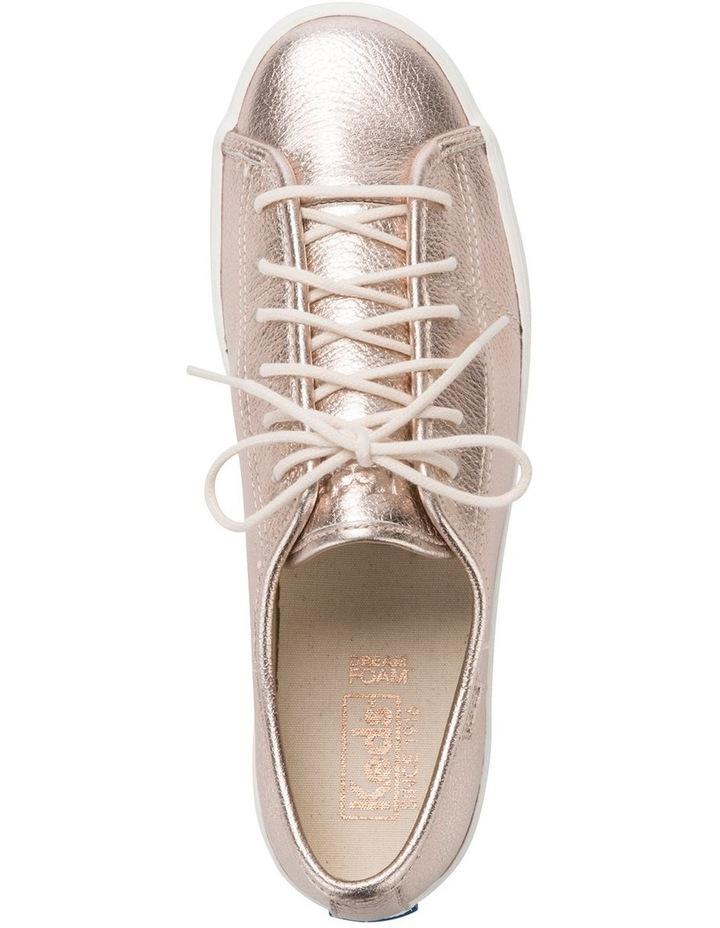 Kickstart Metallic Tumbled Leather Rose Gold Sneaker WH60365 image 2