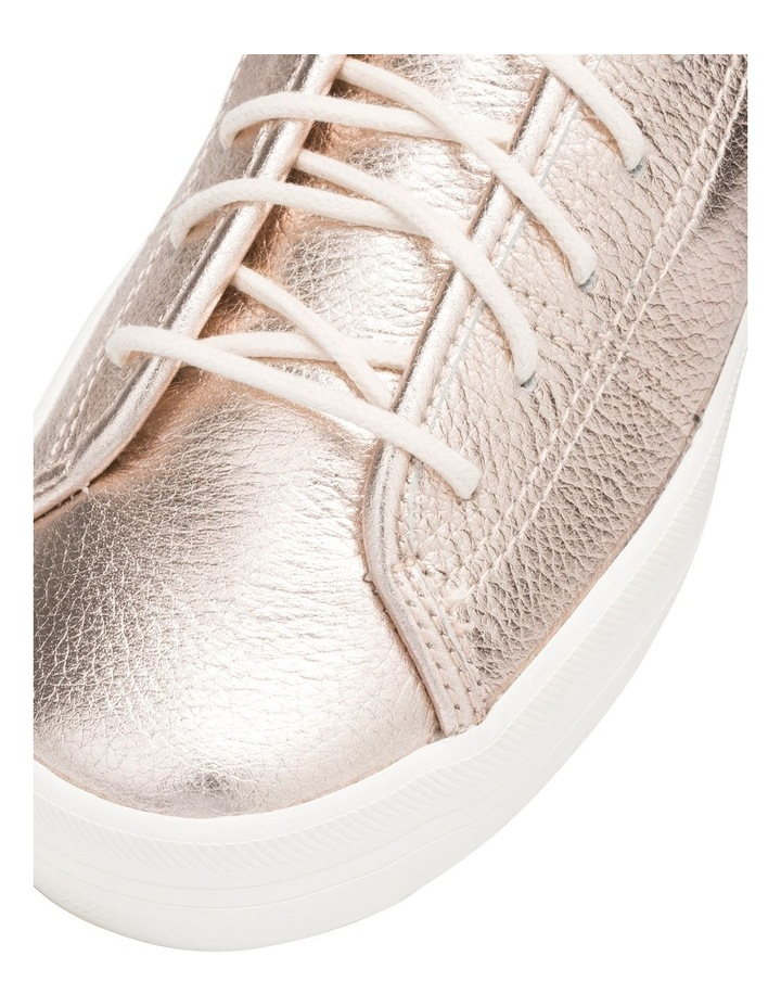 Kickstart Metallic Tumbled Leather Rose Gold Sneaker WH60365 image 5