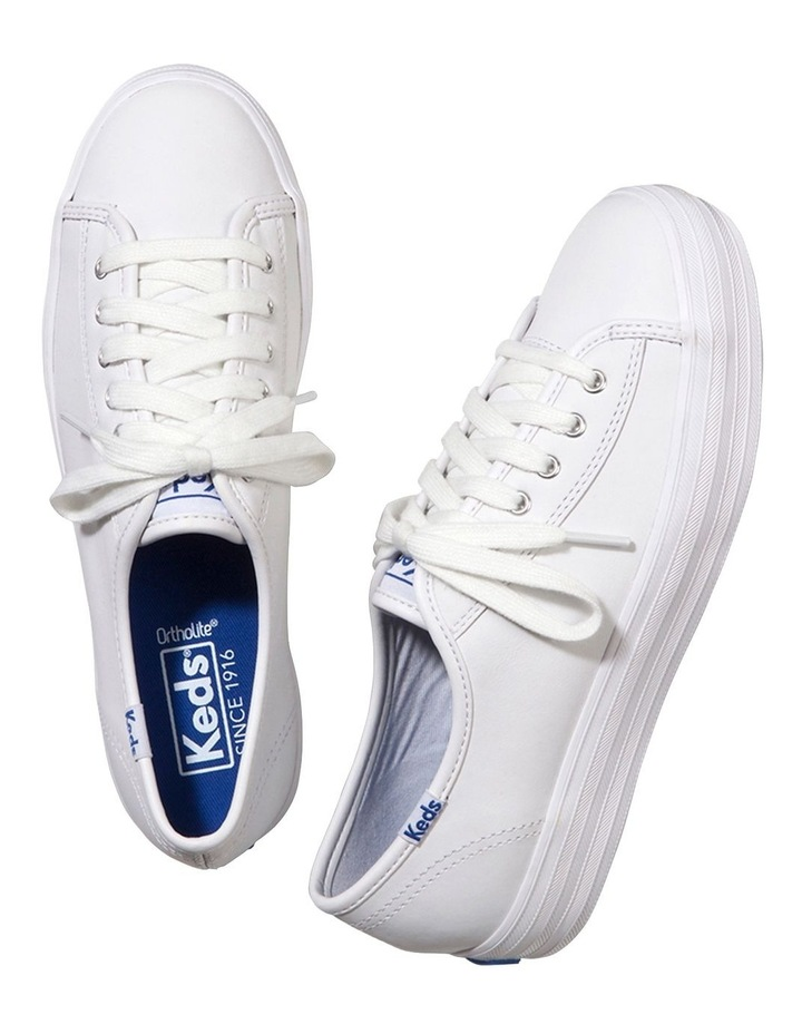 Triple Kick Leather WH57310 White Sneaker image 2