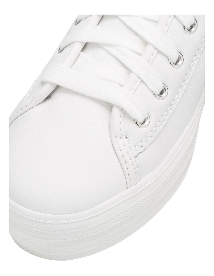 Triple Kick Leather WH57310 White Sneaker image 6