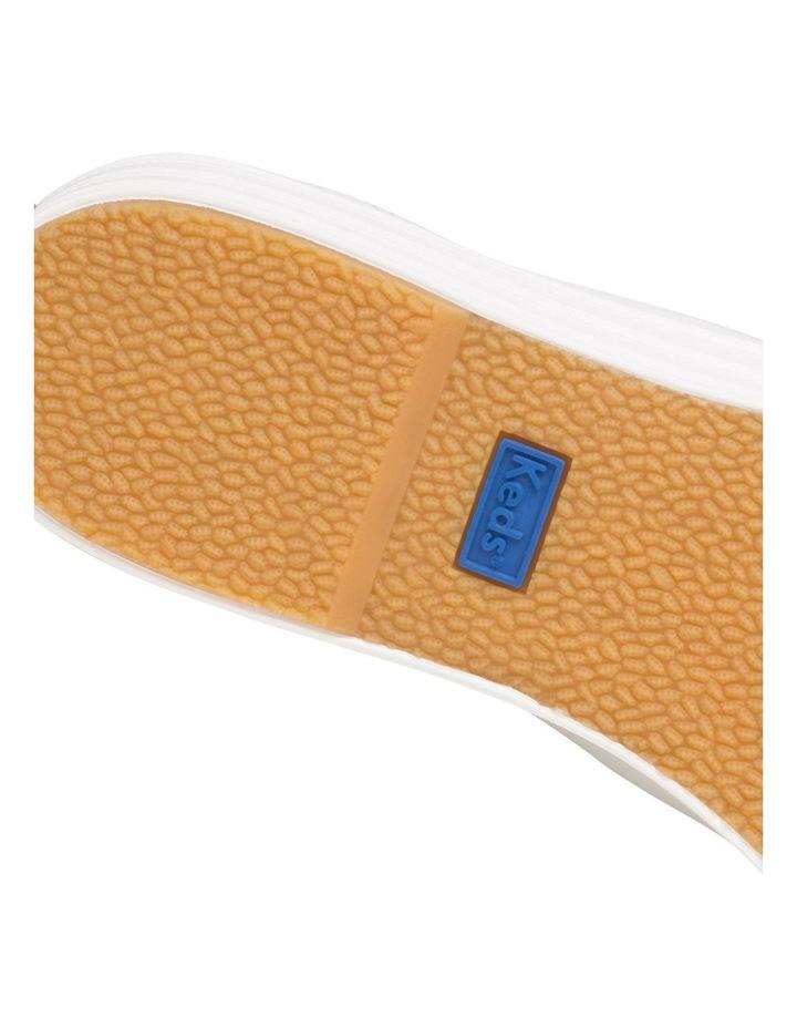 Triple Kick White Leather Flatform Sneaker image 7