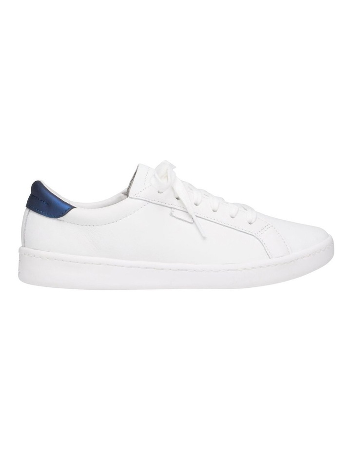 Ace WH61496 White Leather/Navy Sneaker image 1