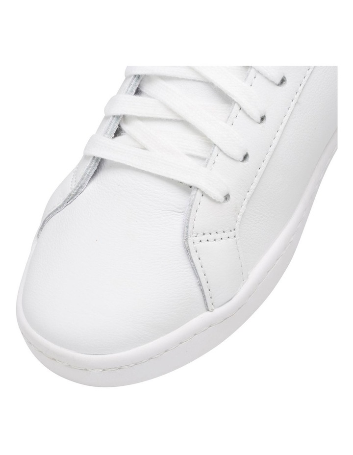 Ace WH61496 White Leather/Navy Sneaker image 3