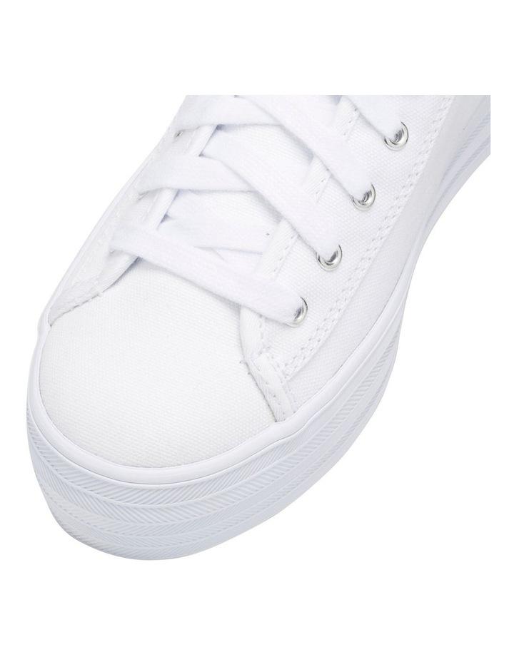 Triple Kick WF57306 White Canvas Sneaker image 2