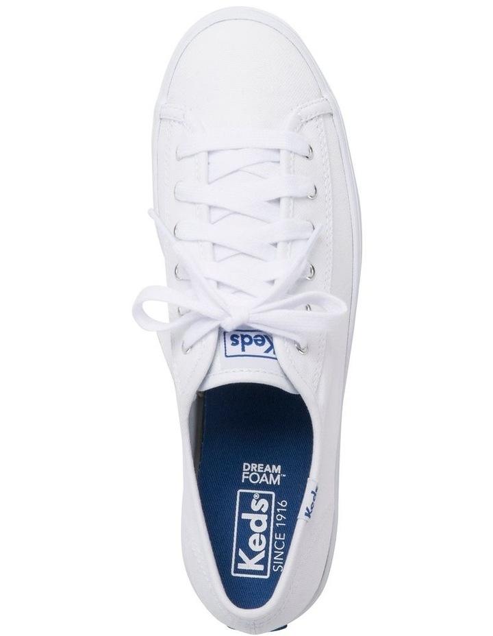Triple Kick WF57306 White Canvas Sneaker image 3