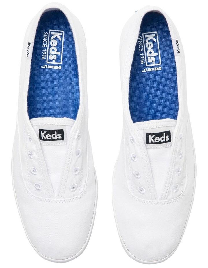 Chillax Washable Organic Cotton White Sneaker image 2
