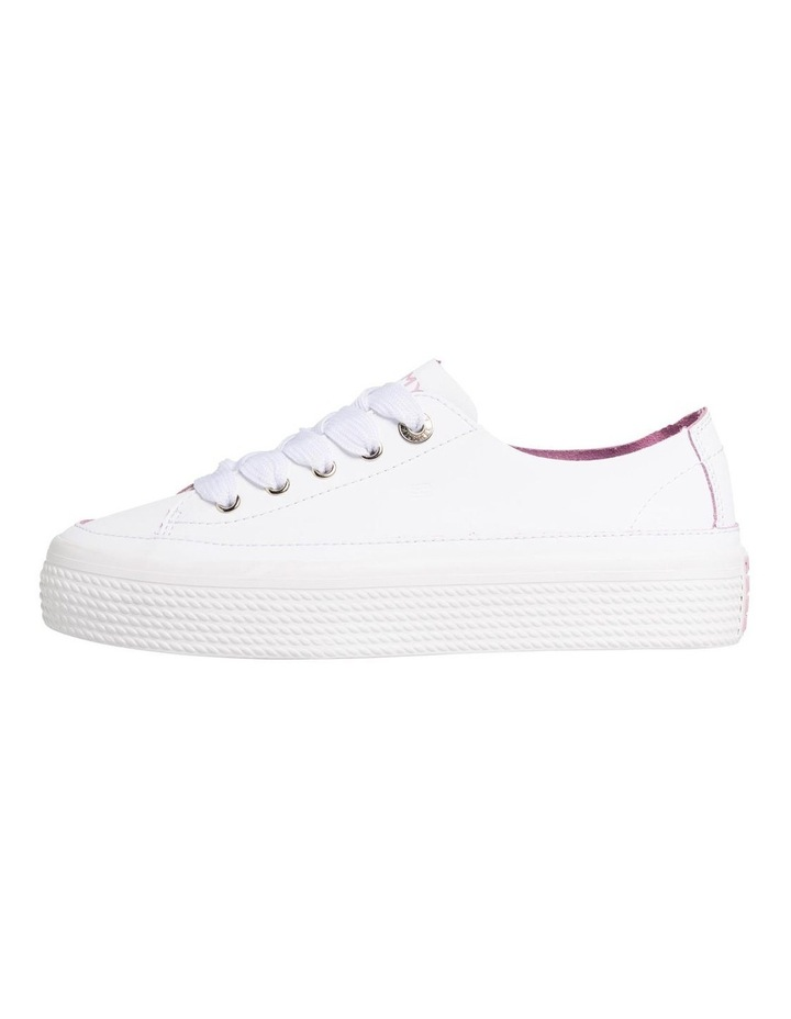 Leather Flatform Trainers image 1