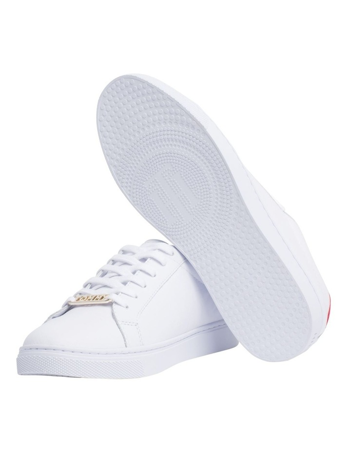 Metallic Back Lace-Up Trainers image 2