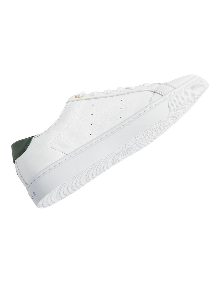 Tommy Lace Up Casual Sneaker White/Black Forest image 3