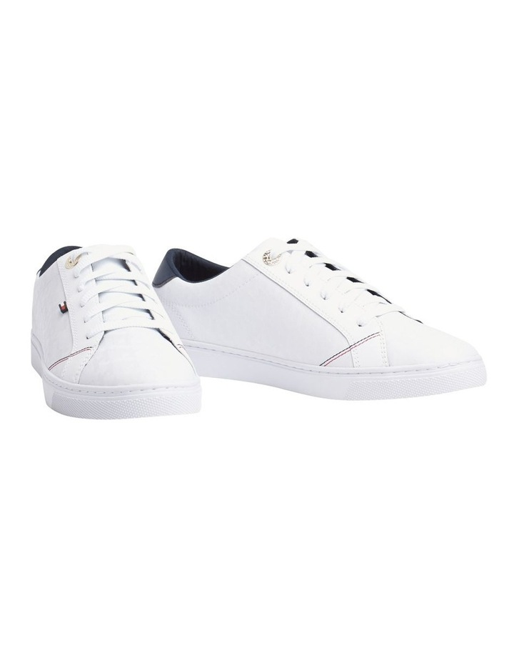 Jacquard Leather Trainers image 1