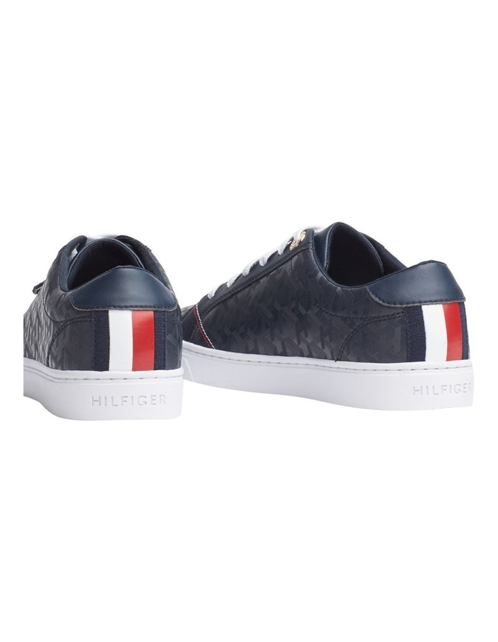 Jacquard Leather Trainers image 3