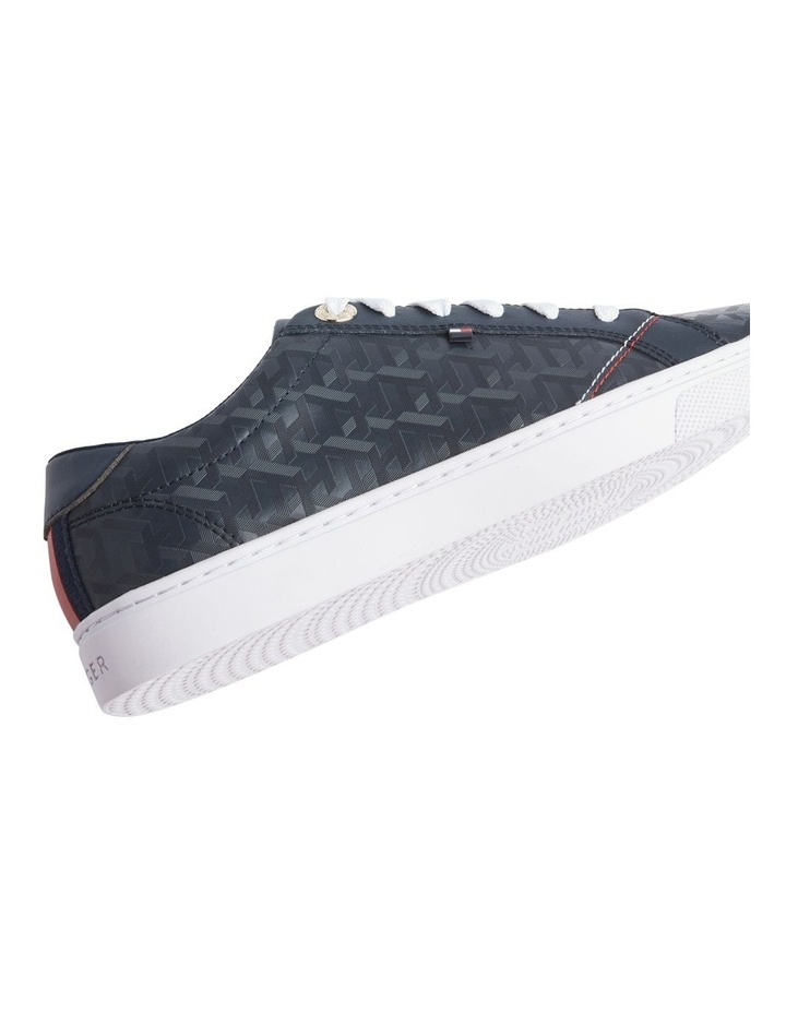 Jacquard Leather Trainers image 4