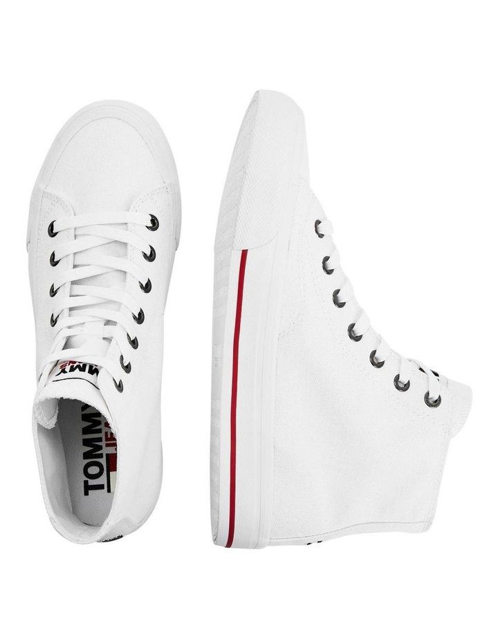 Vulcanised High-Top Trainers image 5