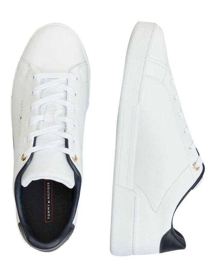 Stripe Insert White Sneaker image 2