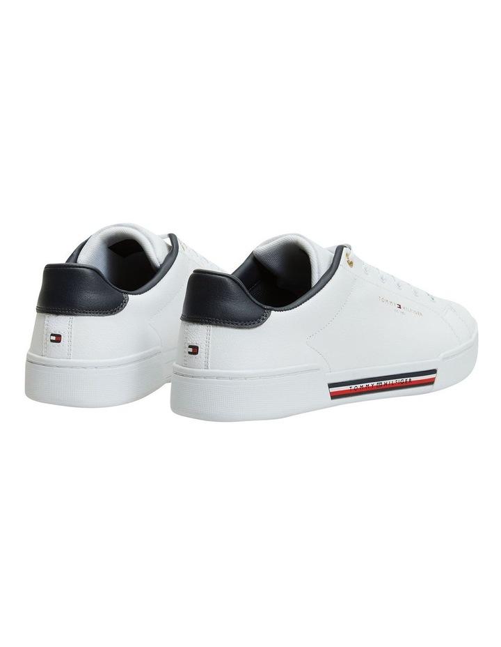 Stripe Insert White Sneaker image 4