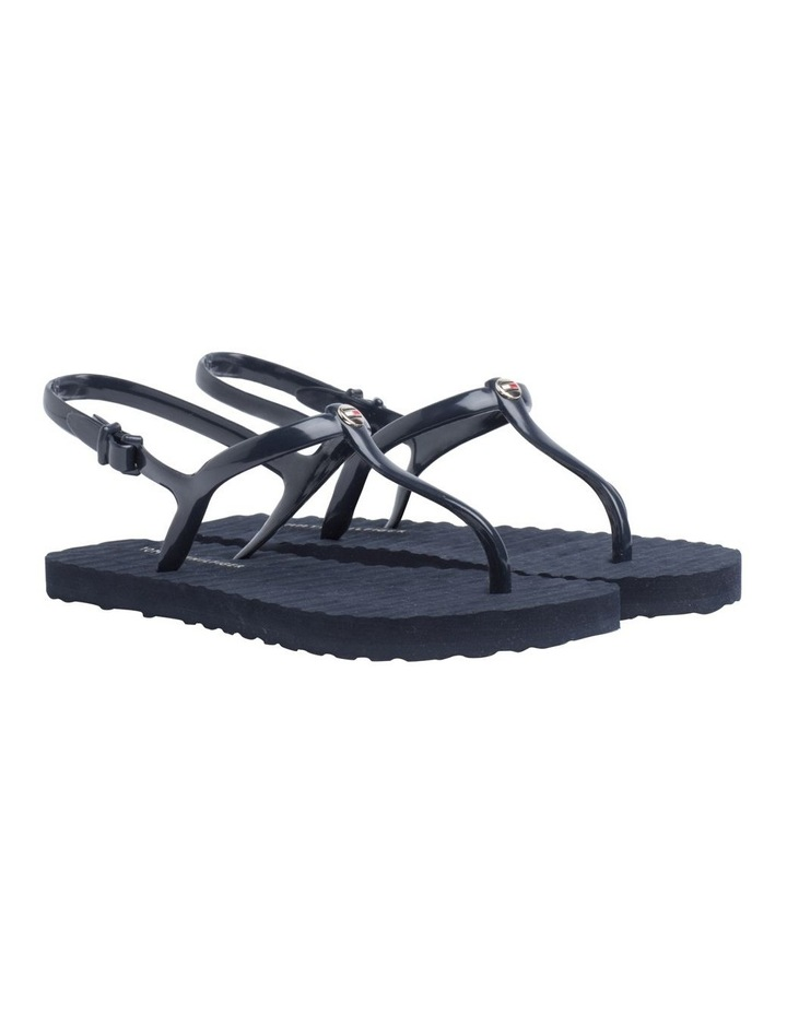 Strappy Flat Beach Sandals image 1