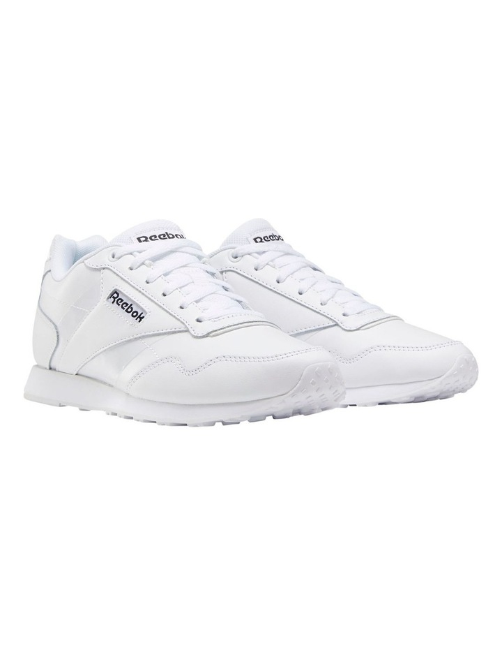 Royal Glide LX  EF7296 White/Black/White Sneaker image 3