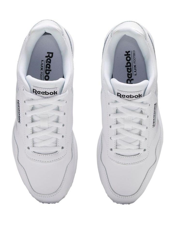 Royal Glide LX  EF7296 White/Black/White Sneaker image 5