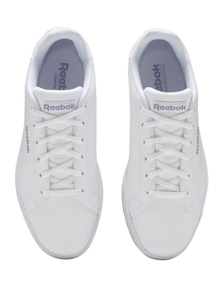 Royal Complete CLN2  EF7768 White/Violet Haze/Reebok Rubber Gum-01 Sneaker image 4