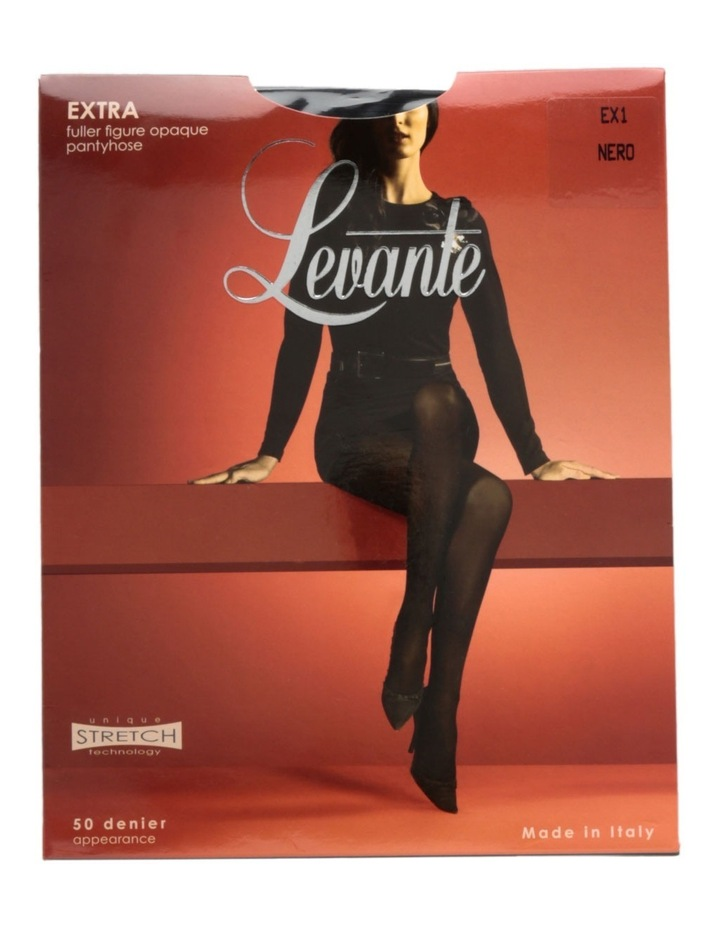 Extra Fuller Figure Opaque Tights OPAEXPH image 1