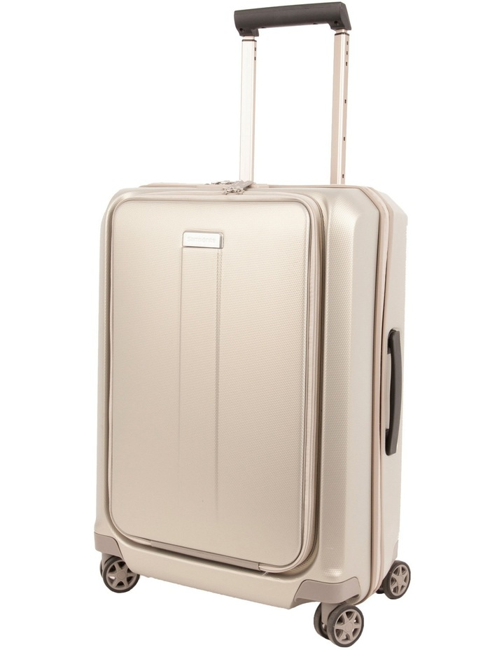 Prodigy Mobile Office Small 55cm Spinner Suitcase - Ivory/Gold image 1