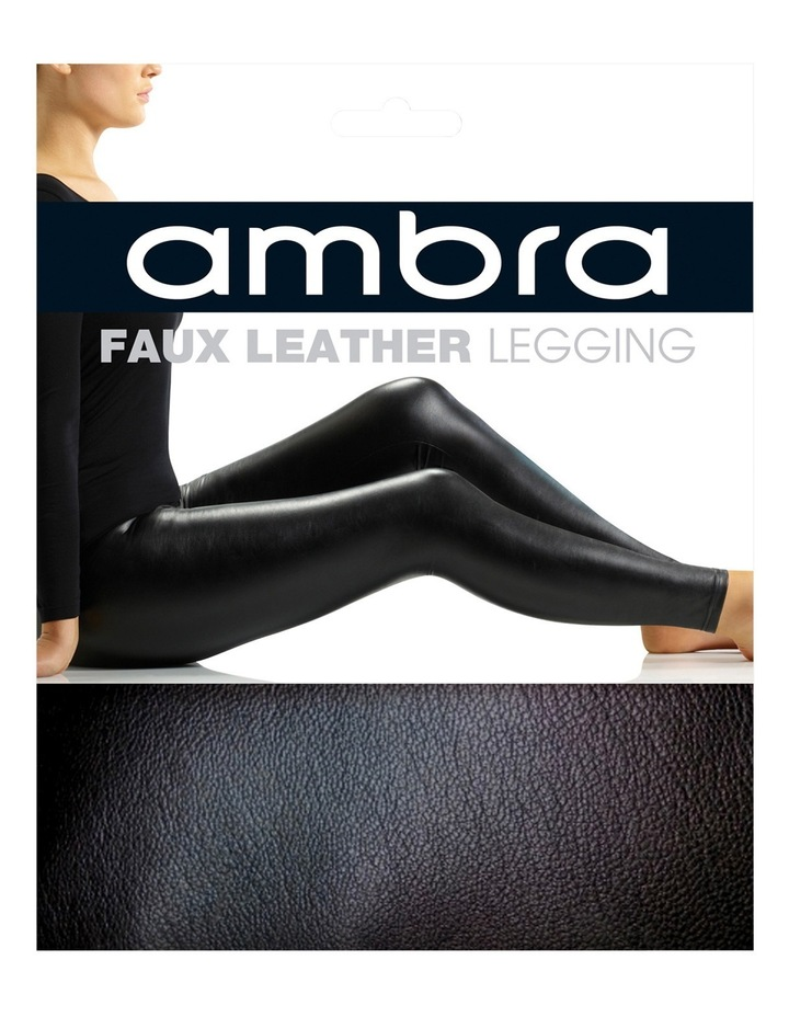 Faux Leather Legging AMFAULELEG image 2