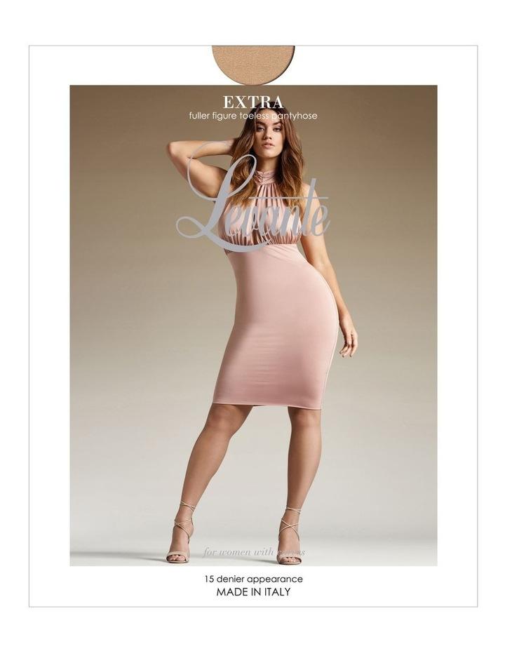 Extra Fuller Figure Toeless Pantyhose image 1