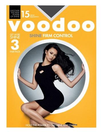 dc0d9b308b2c2 VoodooShine Firm Control Sheers 15 Denier 3 Pack. Voodoo Shine Firm Control Sheers  15 Denier 3 Pack