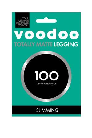 Voodoo - Totally Matte 100 Slim Legg H31319