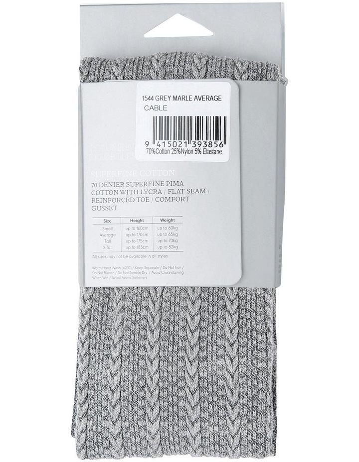 Superfine 70D Pima Cotton Cable Tight 1544 image 4