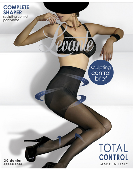 'Complete Shaper' Control Pantyhose COMPSPH in Natural and Black image 1