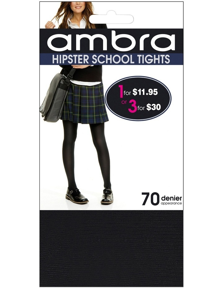 70D Matte Opaque Hipster School Tight image 1