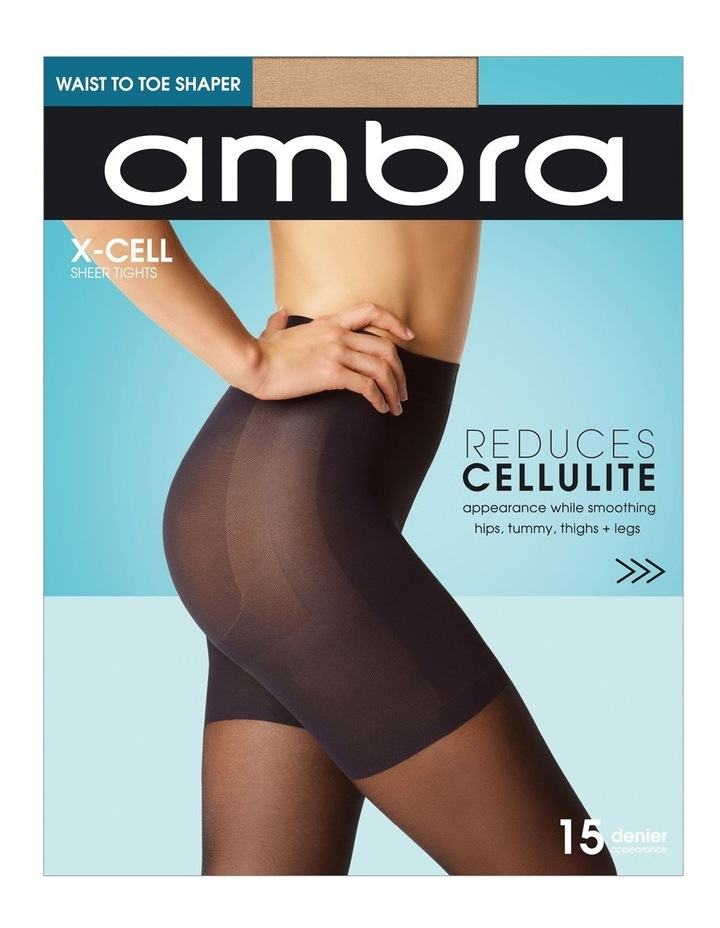 X-Cell Cellulite Reducing Pantyhose image 1
