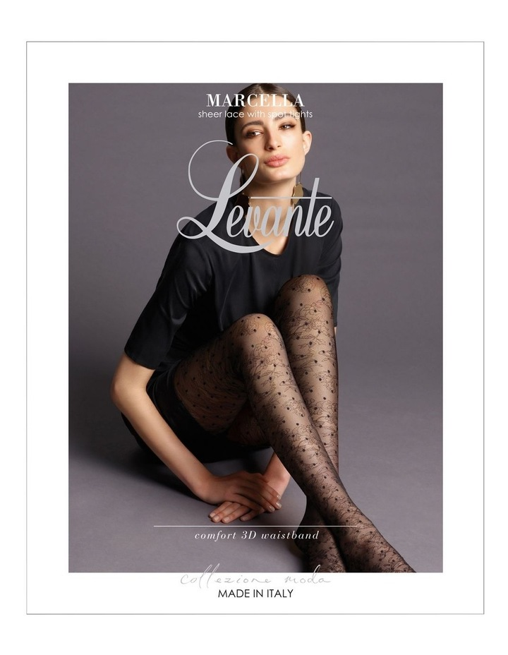 'Marcella' Sheer Lace Spot Tight image 1