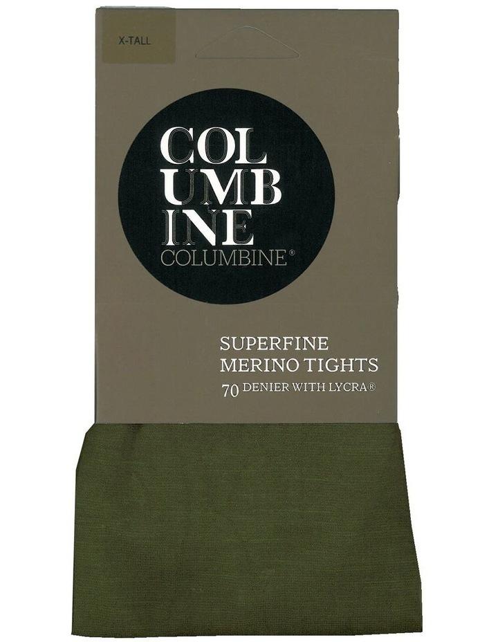 Superfine 70D Merino Plain Knit Tight image 2