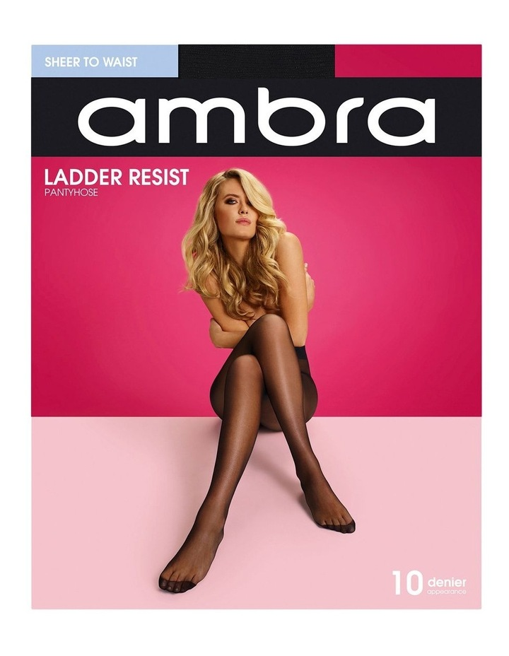 Ladder Resist Sheer To Waist Pantyhose image 1